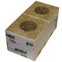 "Grodan 4"" Cube With Large Hole"